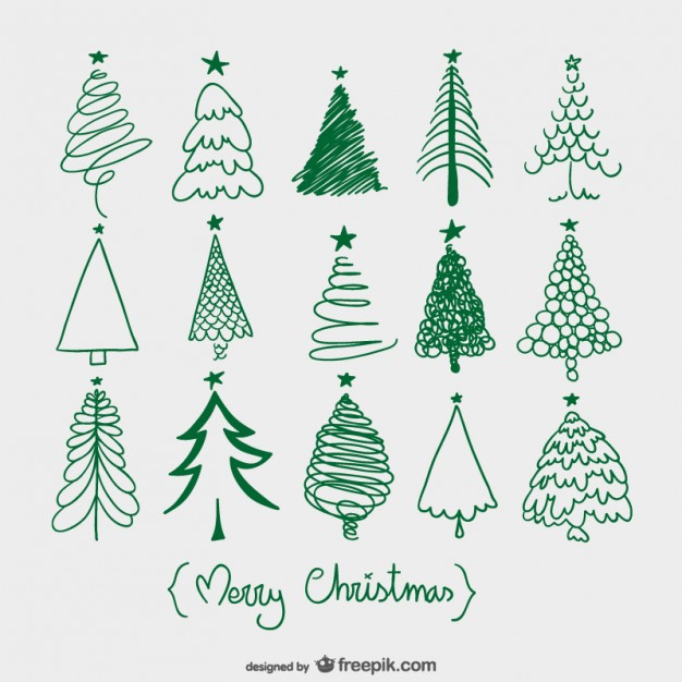 christmas-trees-sketches 23-2147497842