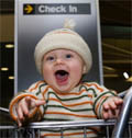 baby airportcheckin