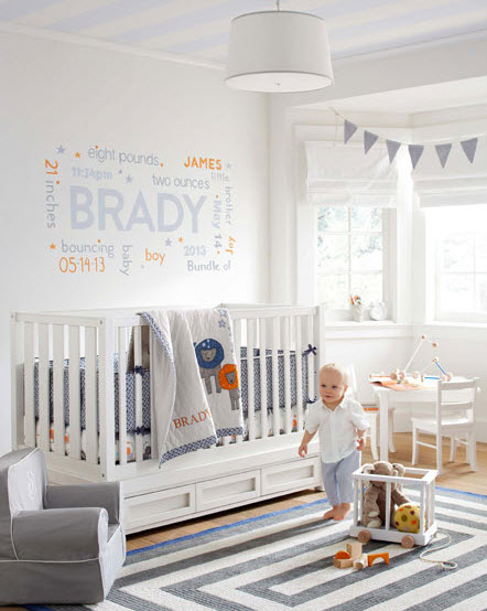 boy nursery room13