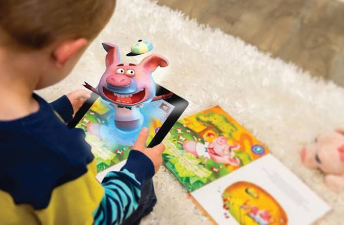 Παιδικά βιβλία με την τεχνολογία της Επαυξημένης Πραγματικότητας