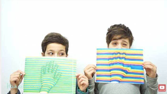 3D αποτύπωμα χεριού (βίντεο)