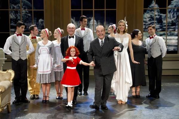 Μιούζικαλ Annie στο Θέατρο Ακροπόλ
