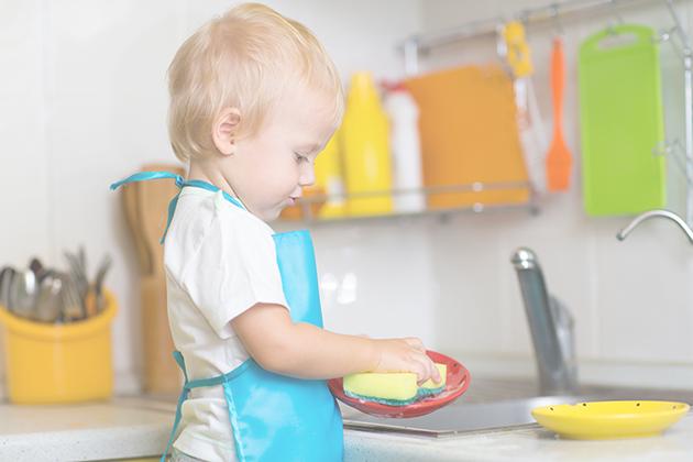 Ανοιξιάτικος καθαρισμός με τη βοήθεια των παιδιών