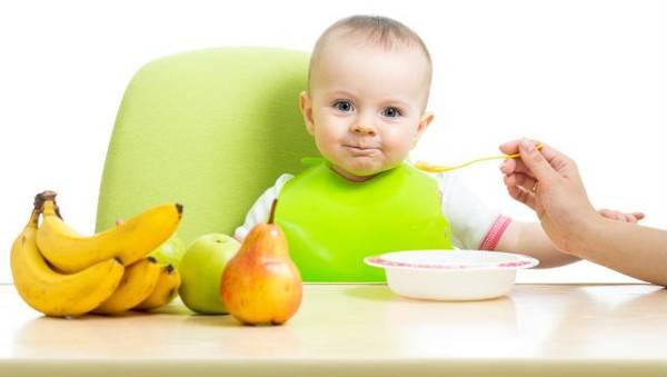 Διατροφή τους πρώτους μήνες