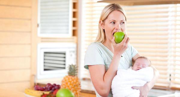 Υγιεινή διατροφή για την μητέρα που θηλάζει