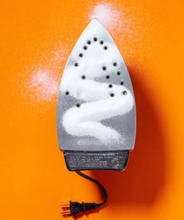 Καθαρίστε το σίδερο σας με αλάτι