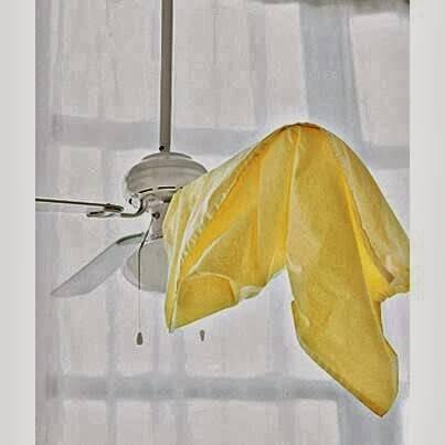 Πώς να καθαρίσετε τον ανεμιστήρα οροφής σας