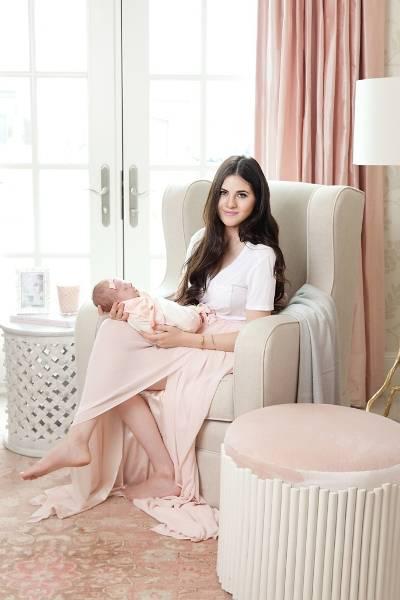 Η blogger Ρακ Πάρσελ μας δείχνει το παιδικό δωμάτιο της κόρης της