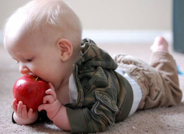 Συνταγές για βρέφη: Μήλο