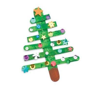 Χριστουγεννιάτικο δέντρο με ξυλάκια