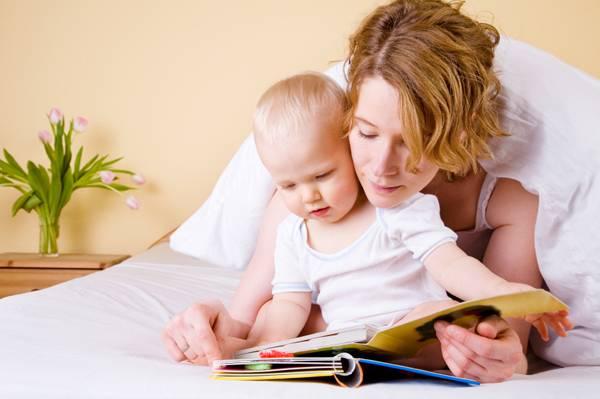 Διαβάζοντας στο μωρό σας