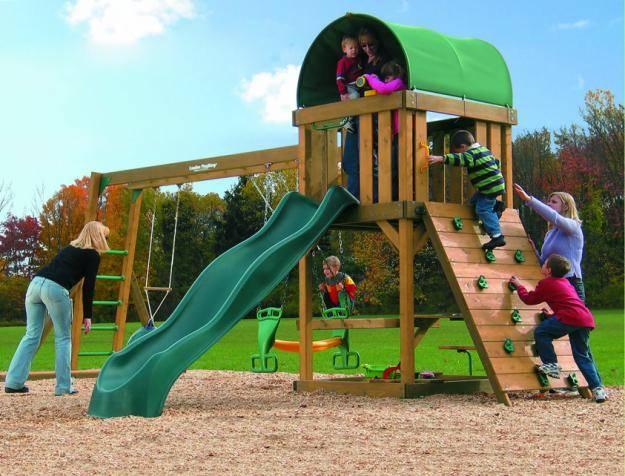 Ασφαλή παιδιά στην παιδική χαρά