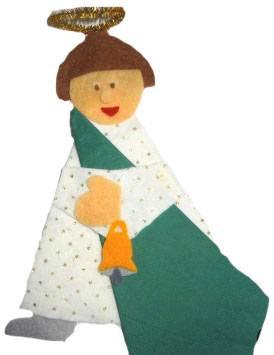 Θήκη για την πετσέτα: Άγγελος!