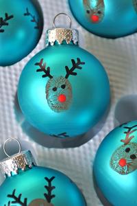 Χριστουγεννιάτικα στολίδια που μπορούν να φτιάξουν τα παιδιά