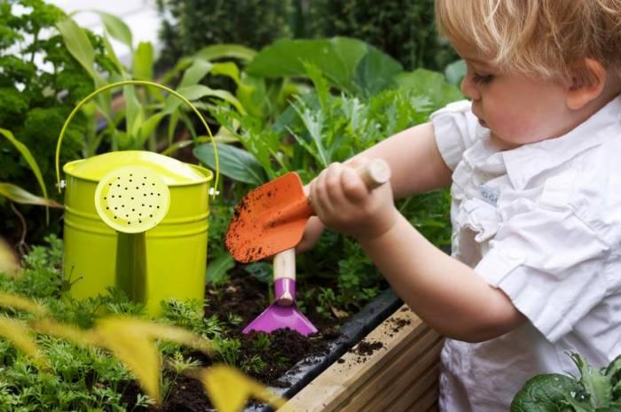Μάθετε στα παιδιά σας να αγαπάνε την κηπουρική