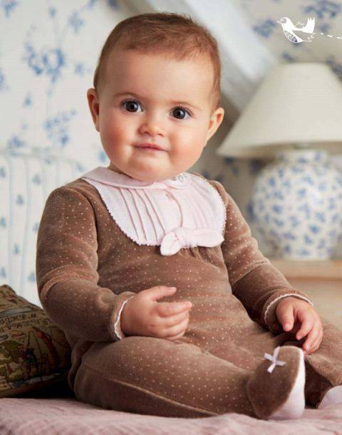 Νέα συλλογή ρούχων Φθινόπωρο Χειμώνας 2014-2015 για το νεογέννητο μωρό