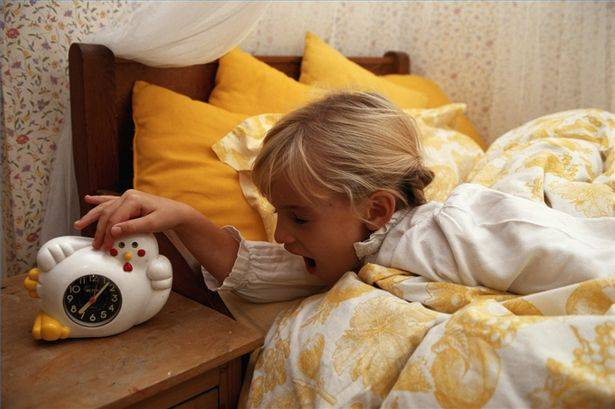 Πρωινό ξύπνημα και προετοιμασία για το σχολείο