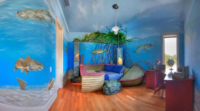 Ευφάνταστα παιδικά δωμάτια!