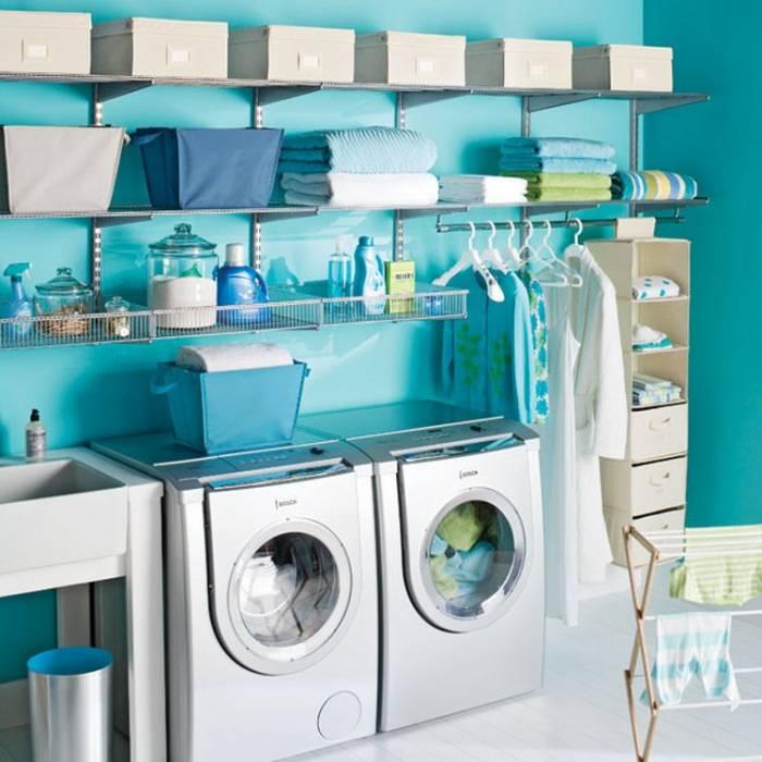 Laundry room: Η νέα μόδα στο πλύσιμο των ρούχων!