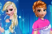 Παιχνίδια για κορίτσια με ντύσιμο: Frozen Barbie dress up