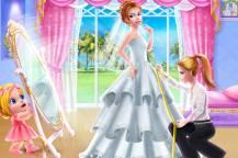 Παιχνίδια για κορίτσια με ντύσιμο: Γκλαμουράτος γάμος