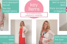 Πώς να ντυθείτε, χωρίς ρούχα εγκυμοσύνης