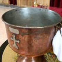 Η τελετή της βάπτισης