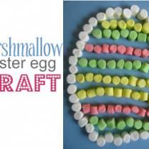 Πασχαλινό αυγό με marshmallow