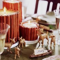 Λαμπερά ελάφια για τη χριστουγεννιάτικη διακόσμηση