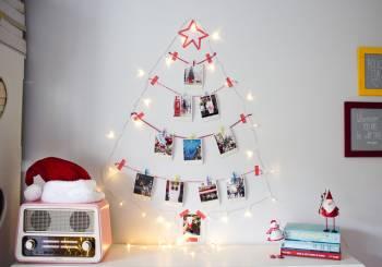 Χριστουγεννιάτικο δέντρο από φωτογραφίες