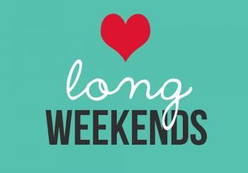 Το Σαββατοκύριακο πρέπει να είναι τριήμερο