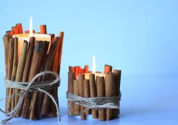 Χριστουγεννιάτικα κεριά (βίντεο)