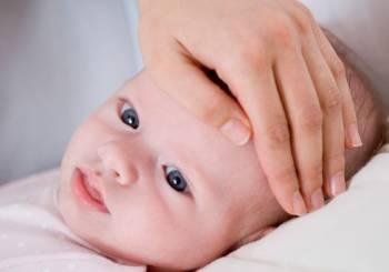 Κρυολόγημα και μωρό