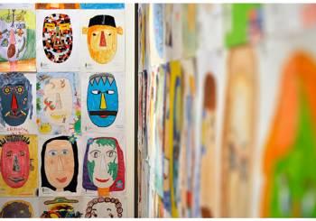 5000 ζωγραφιές, ένα κυκλαδικό κεφάλι
