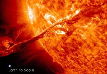 «Ζώντας με τον Ήλιο, έναν απρόβλεπτο γίγαντα:...