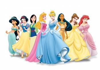 Οι πριγκίπισσες της Disney σήμερα...