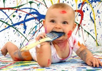 Πώς επηρεάζει το χρώμα το μωρό μας