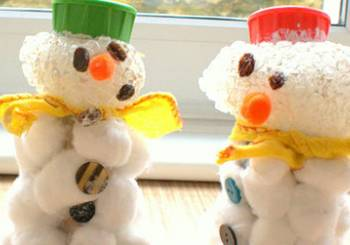 Ένας... οικονομικός χαρούμενος χιονάνθρωπος