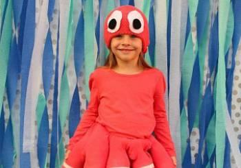 Αποκριάτικη στολή για κοριτσι: χταπόδι