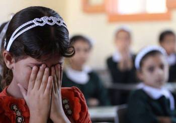 Πρώτη μέρα για τα σχολεία στη Γάζα...
