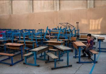 Εκεί που τα σχολεία γίνονται καταφύγια