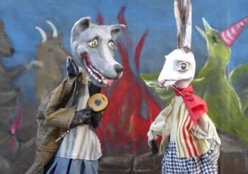 """""""Το πάρτυ στο δάσος και ο λύκος"""" στο Κουκλοθέατρο- Χριστίνας Μπήτιου"""