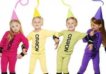 Αποκριάτικες στολές για παιδιά: Κηρομπογιά