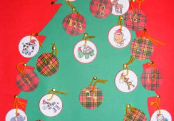 Χριστουγεννιάτικο δέντρο με αριθμούς