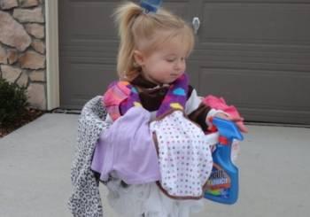 Αποκριάτικες στολές για παιδιά: Μπουγάδα