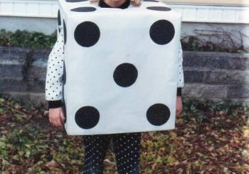 Αποκριάτικες στολές για παιδιά: Ζάρι