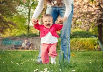 Τα πρώτα βήματα του μωρού σας