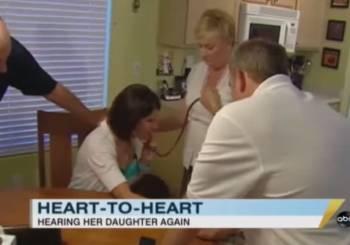 Όταν μια μητέρα άκουσε την καρδιά της κόρης της για τελευταία φορά...