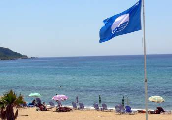Ποιες παραλίες πήραν γαλάζια σημαία για το 2014;