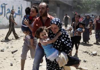 Γυναικόπαιδα και πάλι τα θύματα του πολέμου στη Γάζα